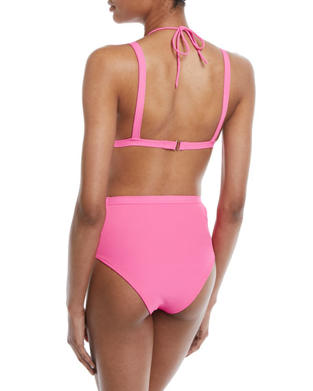 Nobel Triangle Swim Top