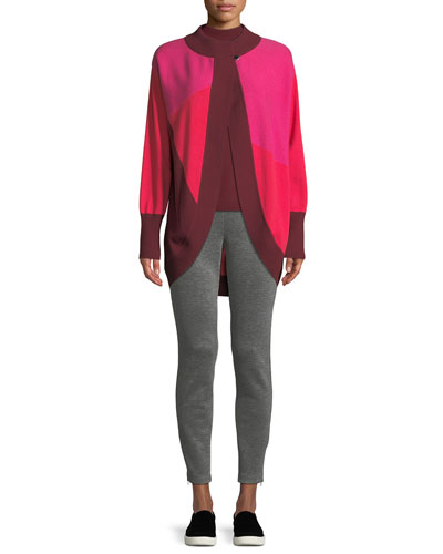 Links Cashmere Intarsia Knit Cardigan  and Matching Items