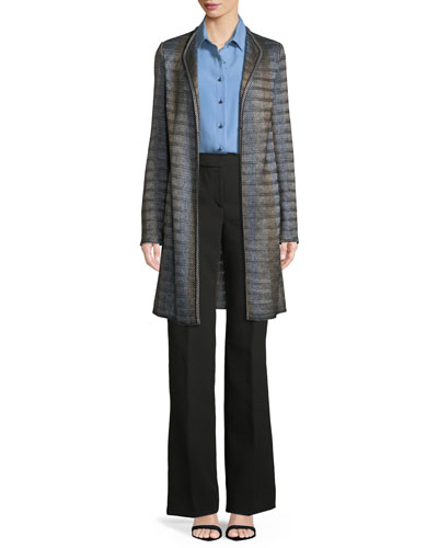 Bella Double-Weave Pants and Matching Items
