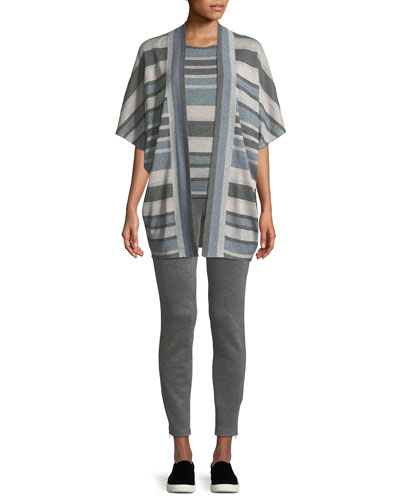 Birdseye Double-Knit Cropped Pants and Matching Items