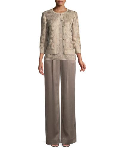 Stellar Gaze Jacquard Knit Cardigan  and Matching Items