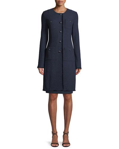 Ana Boucle Knit Jacket  and Matching Items