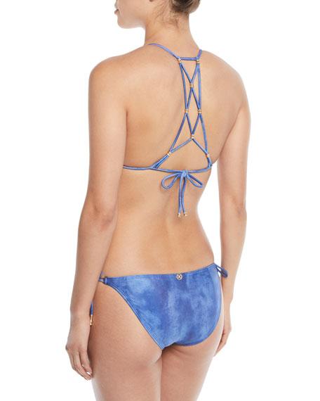 Lucy Strappy Beaded Triangle Swim Top