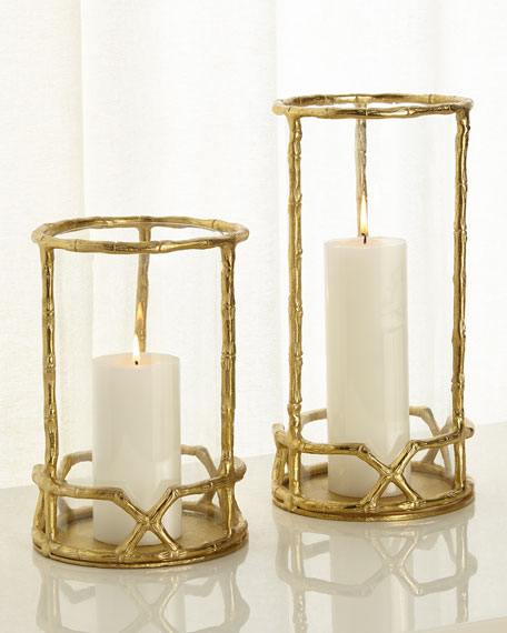 Enchanted Flame Short Candleholder