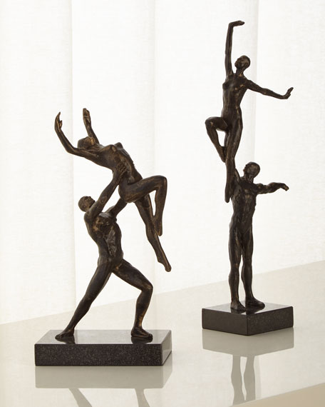 Dancers Two-Arm Lift Sculpture