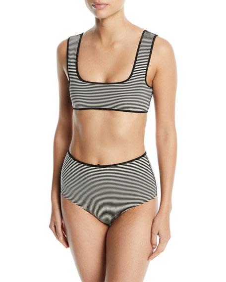 Tarpum Bay Striped Bikini Top