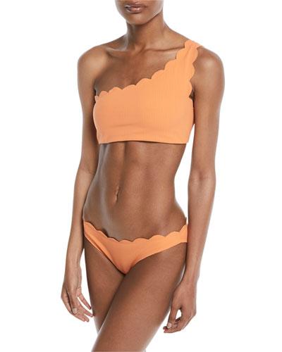 Santa Barbara One-Shoulder Swim Top and Matching Items