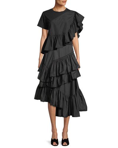Flamenco Flounce-Hem Tee and Matching Items