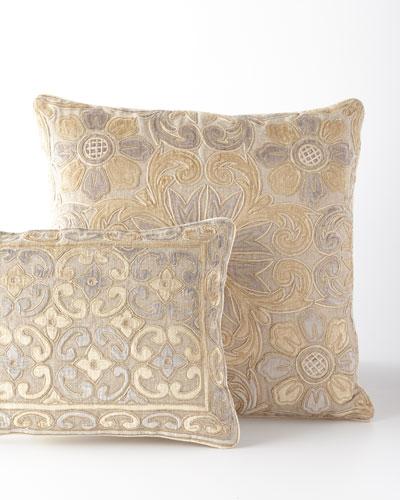 Linen-Blend Pillow, 23