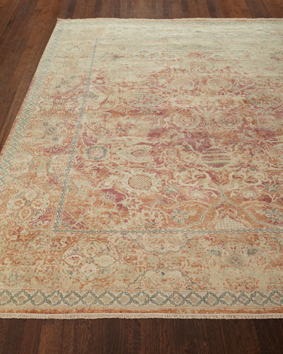 Rai Hand-Knotted Rug, 9' x 12' and Matching Items