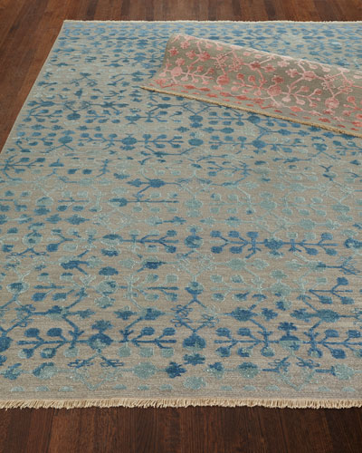 Anika Hand-Woven Rug, 9' x 12' and Matching Items