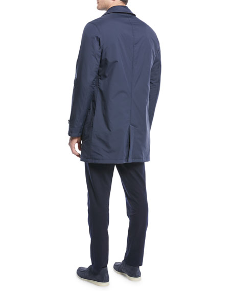 Men's Reversible Plaid Coat