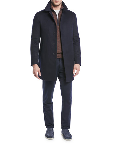 Men's Sidney Cashmere Coat and Matching Items