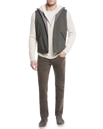 Men's Marlin Reversible Zip-Front Vest and Matching Items