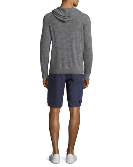 Men's Poplin Short-Sleeve Cabana Shirt