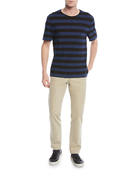 Men's Striped Jersey T-Shirt