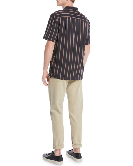 Men's Vintage Striped Cabana Shirt