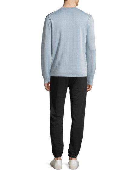 Men's Single-Pocket Long-Sleeve T-Shirt