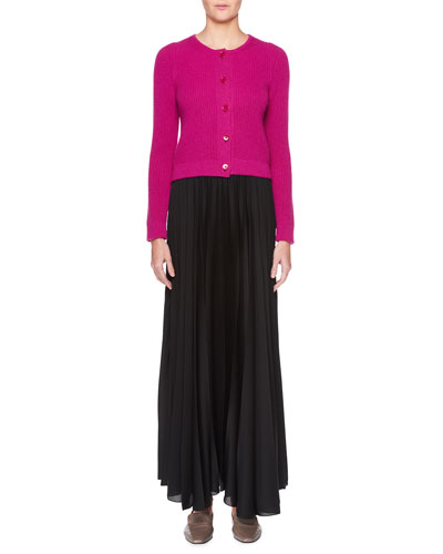 Vailen Pleated Satin Maxi Skirt and Matching Items