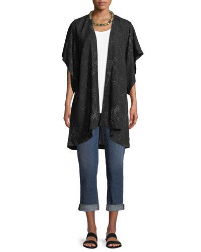 Marrakesh Printed Kimono Jacket  and Matching Items