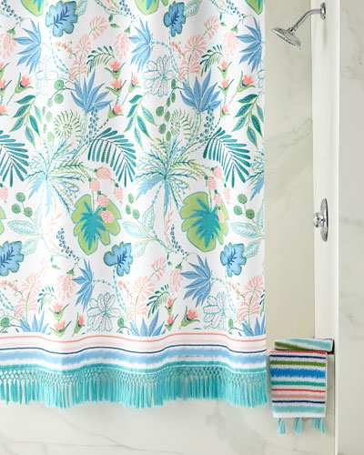 Jacquard Bath Towel with Tassels  and Matching Items