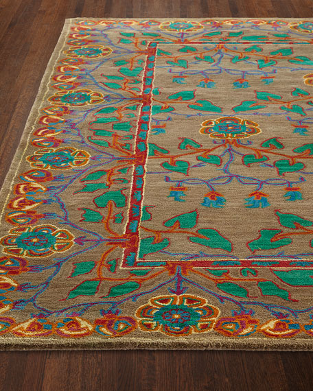 Alonso Hand-Tufted Rug, 5.6' x 8.6'