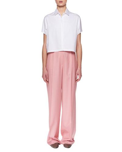 Elin High-Waist Wide-Leg Wool Pants and Matching Items