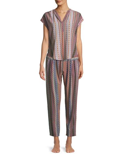 Paige Graphic-Print Lounge Pants and Matching Items