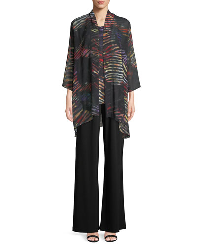 Harvest Printed Georgette Cardigan  and Matching Items