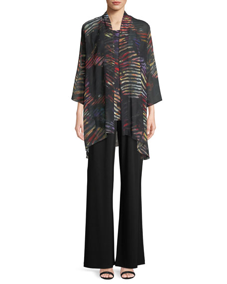 Harvest Printed Georgette Cardigan