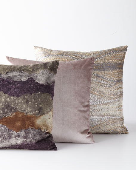 Imogen Metal Knife-Edge Pillow