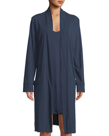 Omorose Pima Cotton Jersey Robe