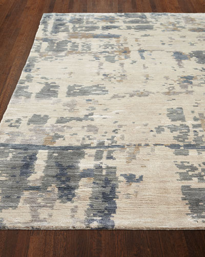Kateryna Hand-Knotted Rug, 6' x 9'  and Matching Items