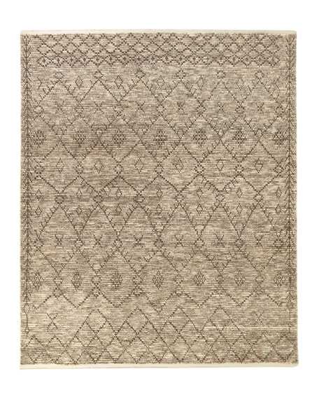 Maksym Hand-Knotted Rug, 8.6' x 11.6'