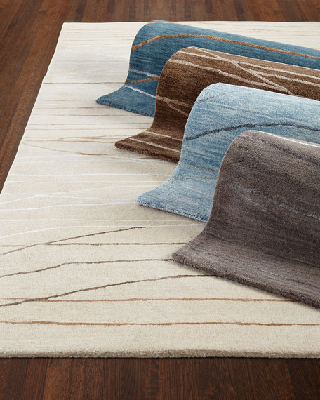 Bianca Hand-Tufted Rug, 5.6' x 8.6'