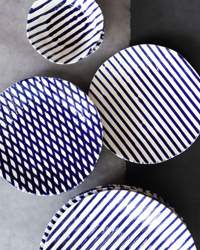 Stripe Dinner Plate and Matching Items