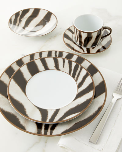 Kendall Zebra Tea Cup and Saucer and Matching Items