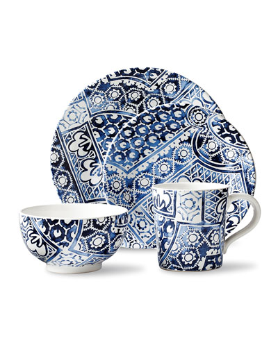 Cote D'Azur Batik Dinner Plate  and Matching Items