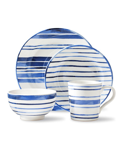 Cote D'Azur Stripe Dinner Plate  and Matching Items
