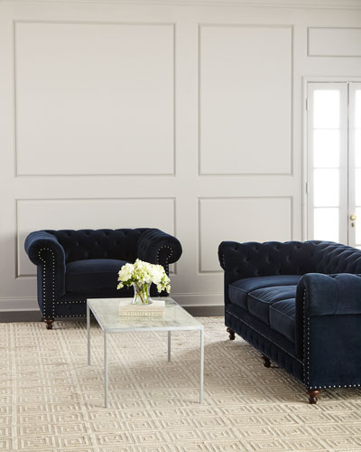 Tia 3-Cushion Chesterfield Sofa and Matching Items
