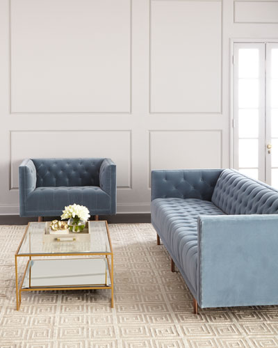 Lynette Tufted Sofa  and Matching Items