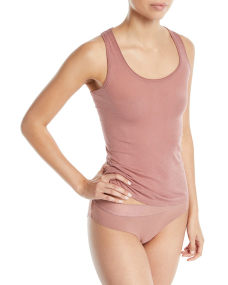 Organic Cotton Jersey Lounge Tank
