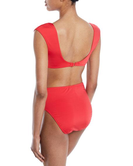 Getaway Tie-Front Bikini Top