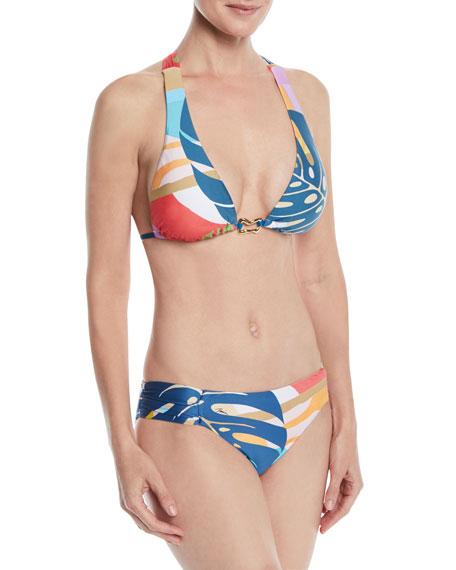 Banana Leaf Halter Bikini Top