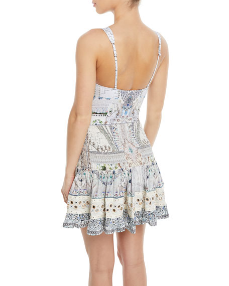 The Long Way Home Embellished One-Piece Swimsuit