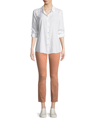 Crosshatch Classic Button-Front Shirt and Matching Items