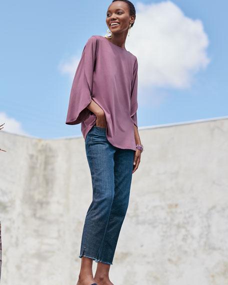 Lightweight Viscose Jersey Top, Plus Size