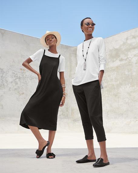 Organic Cotton Jersey Pocket Top, Plus Size