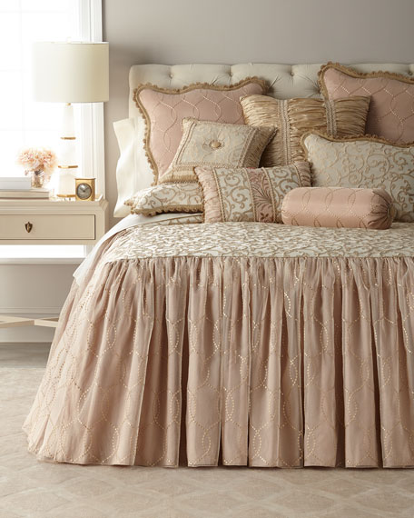 Chamonterie King Skirted Coverlet