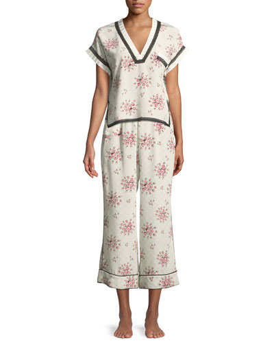 Trudy Tea Rose Pajama Pants and Matching Items